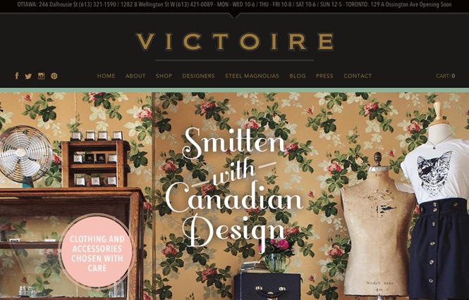 Giao diện website đẹp kinh doanh thời trang