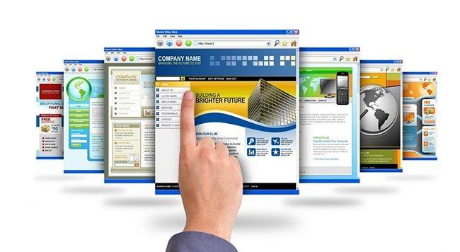 Sự lựa chọn phong phú và đa dạng các mẫu thiết kế web