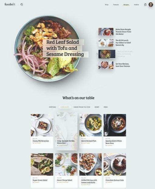 Thiết kế của một website được lên ý tưởng từ layout ban đầu.