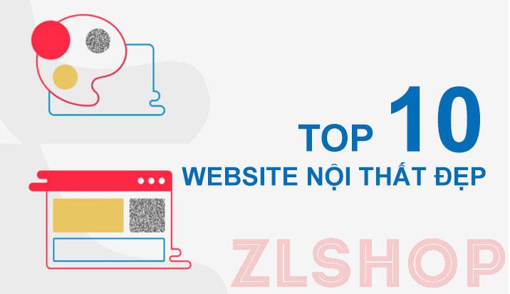 Top 10 mẫu website nội thất đẹp