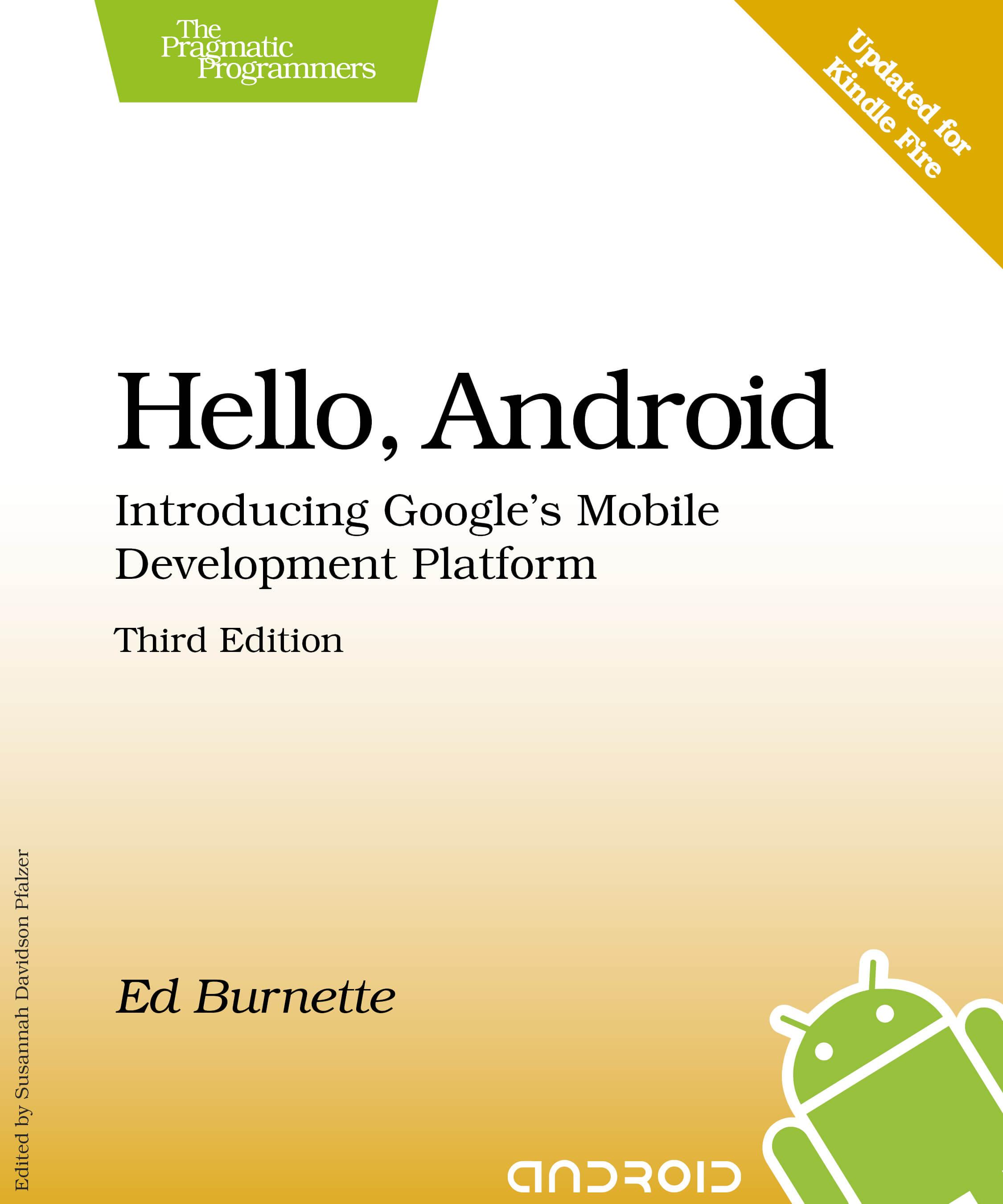 Tài liệu Hello, Android được nhiều bạn trẻ yêu thích
