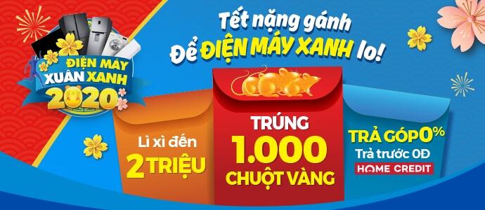 Mẫu website bán hàng tết Điện Máy Xanh